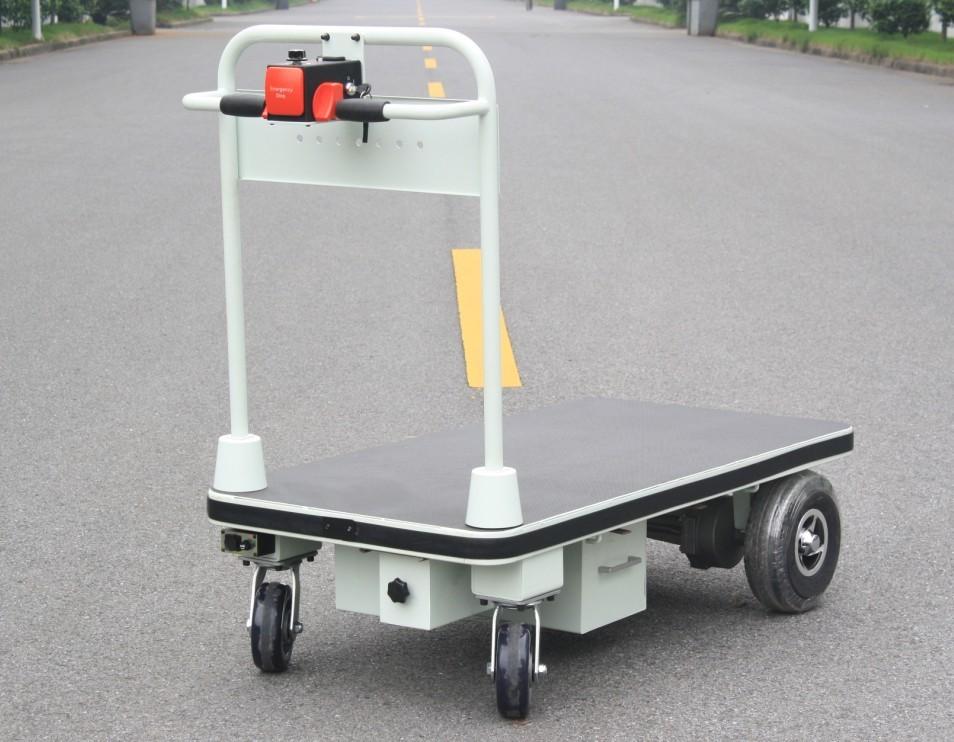 Electric Platform Trolley With Big Wheels (HG-1030)
